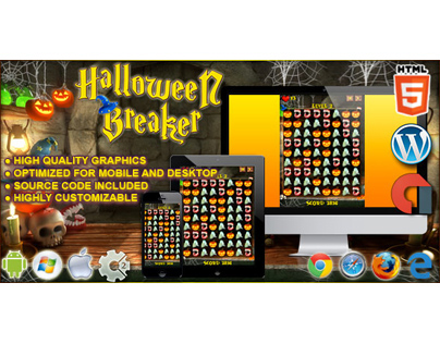 Construct Game: Halloween Breaker - Code This Lab srl