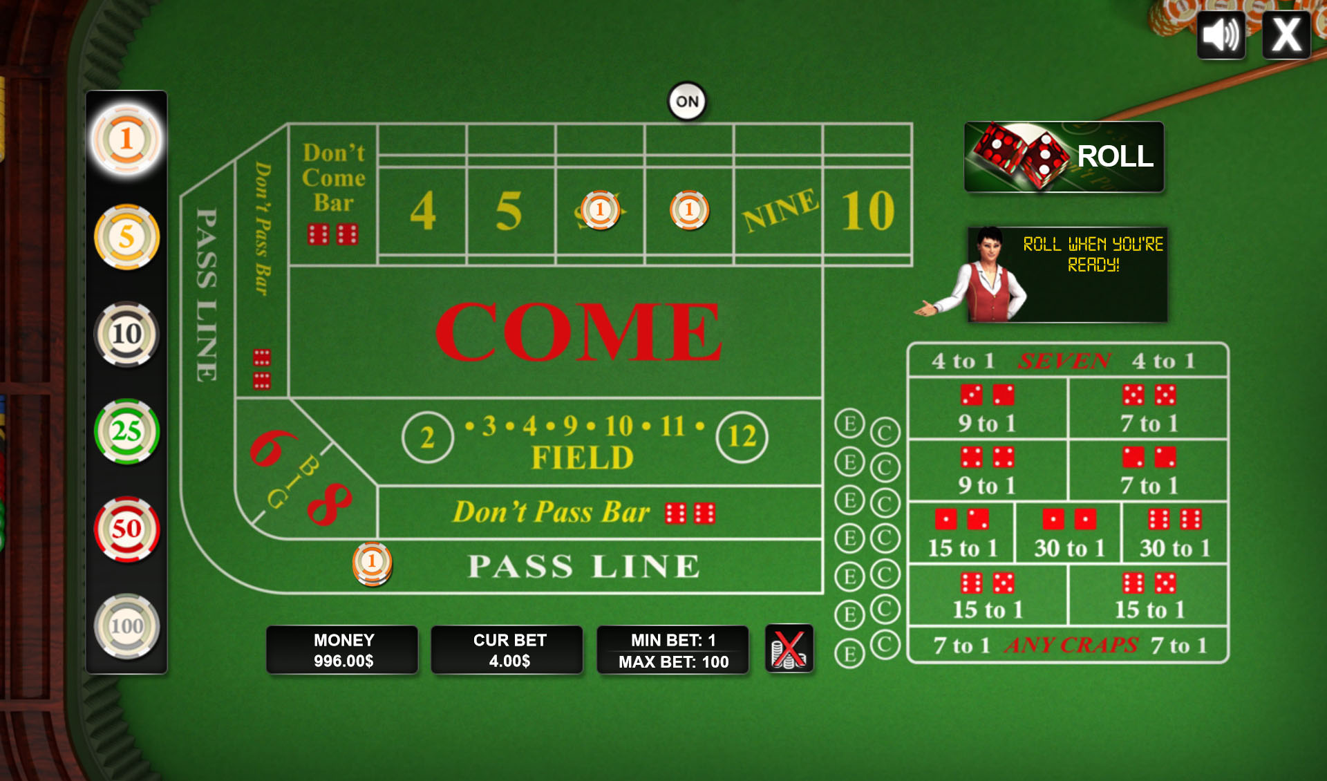 HTML5 Game: Craps - Code This Lab srl