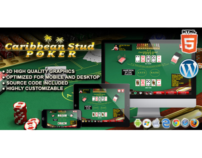 HTML5 Game: Caribbean Stud Poker
