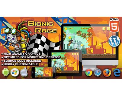 HTML5 Game: Bionic Race