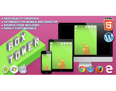 HTML5 Game: Box Tower
