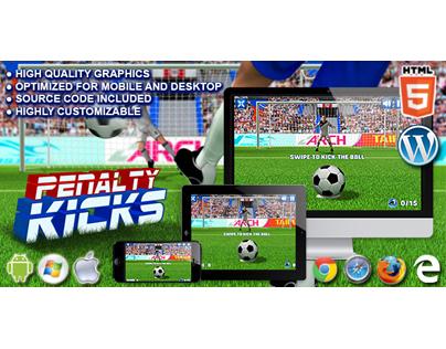 HTML5 Game: Penalty Kicks