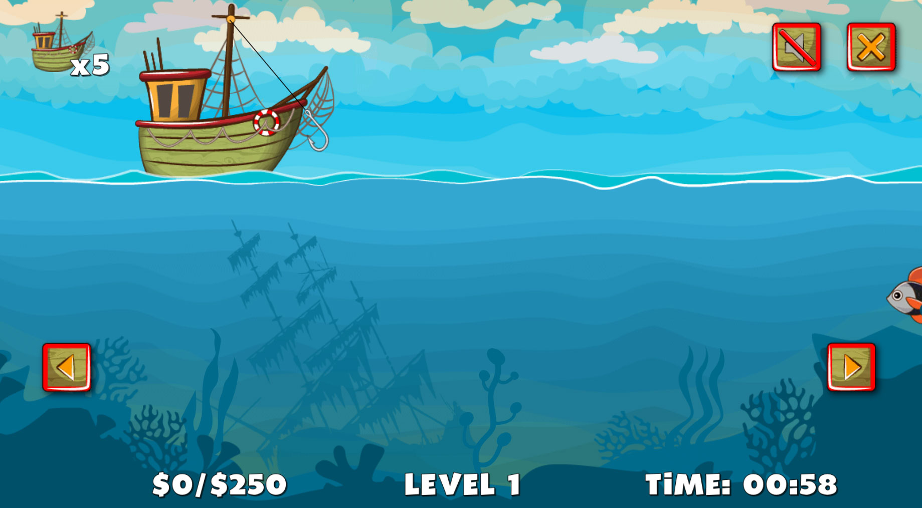 Construct game let 39 s go fishing code this lab srl for Lets go fishing game