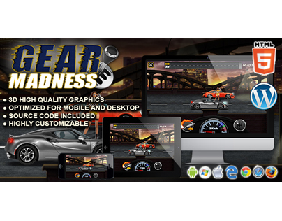 HTML5 Game: Gear Madness