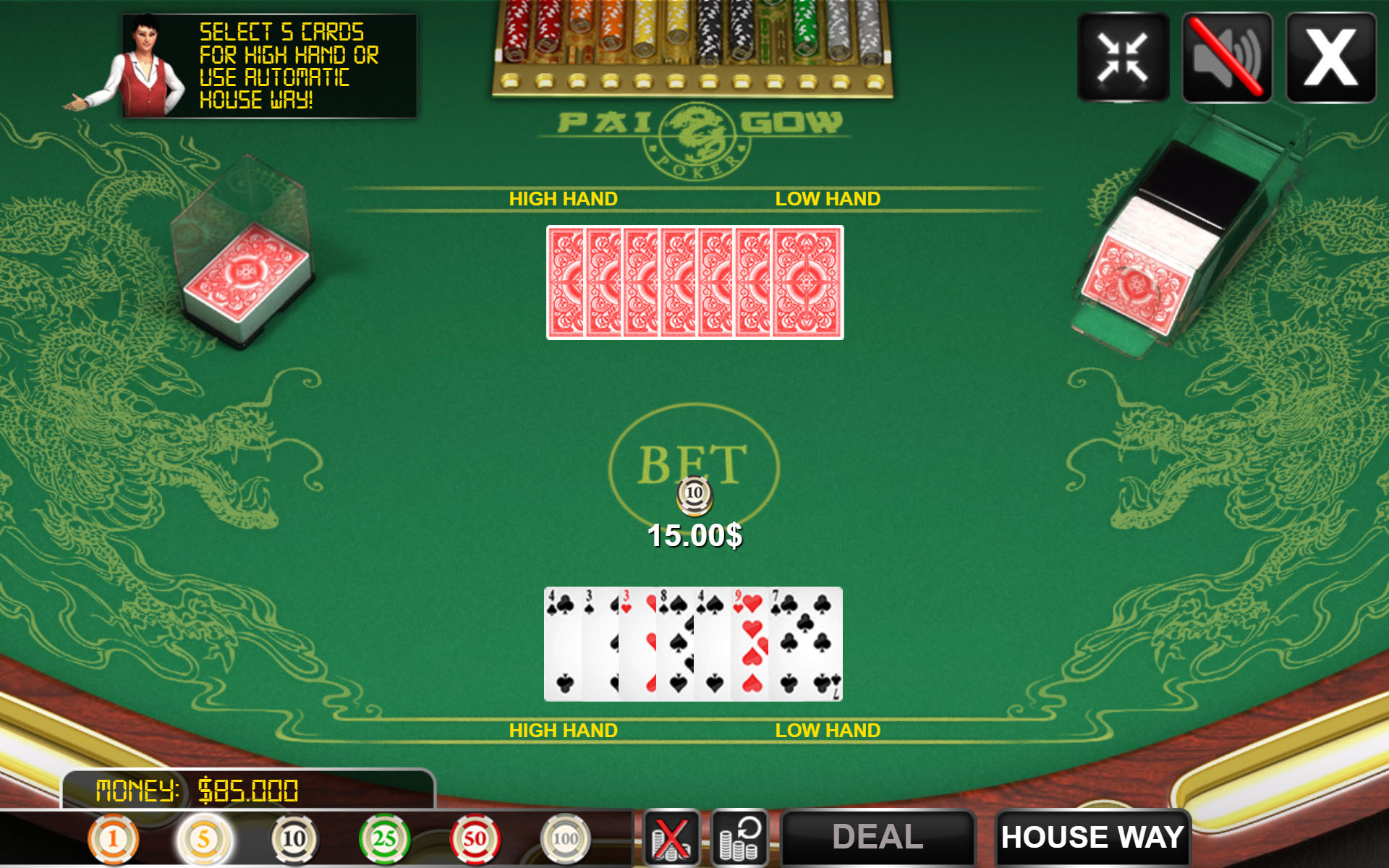 All in or fold poker online