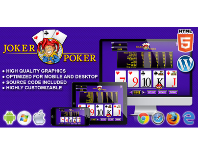 HTML5 Game: Joker Poker