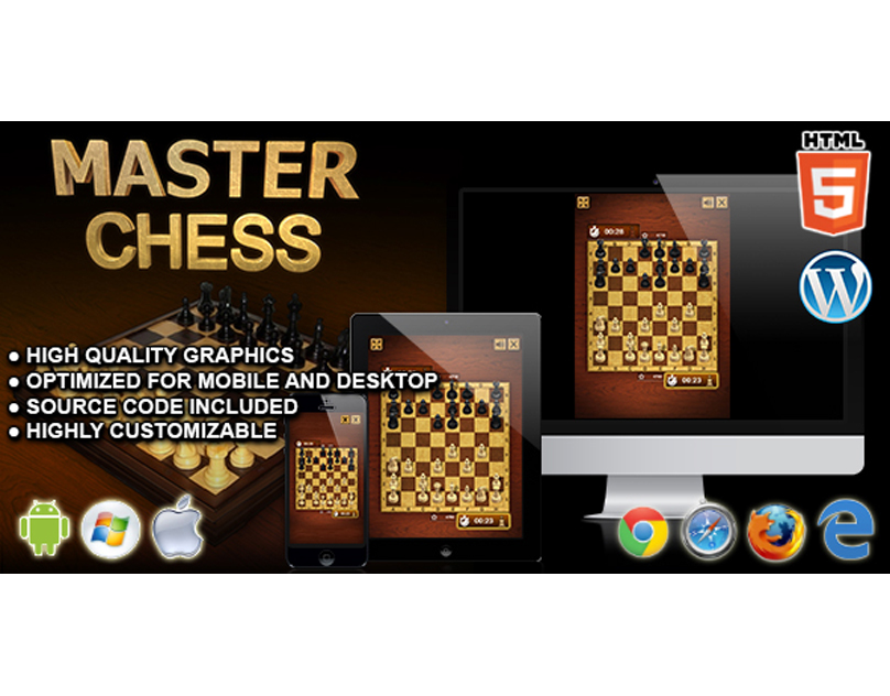 HTML5 Game: Master Chess