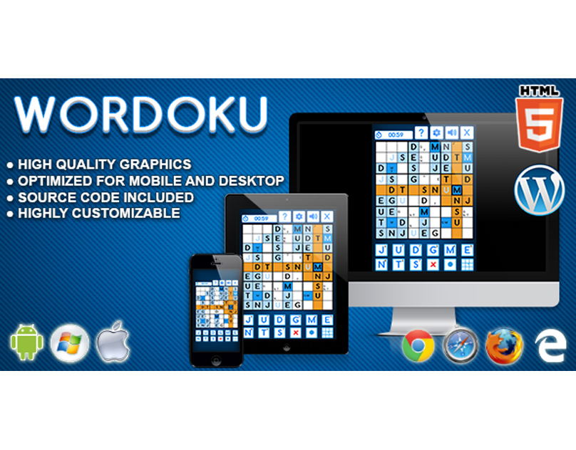 HTML5 Game: Wordoku