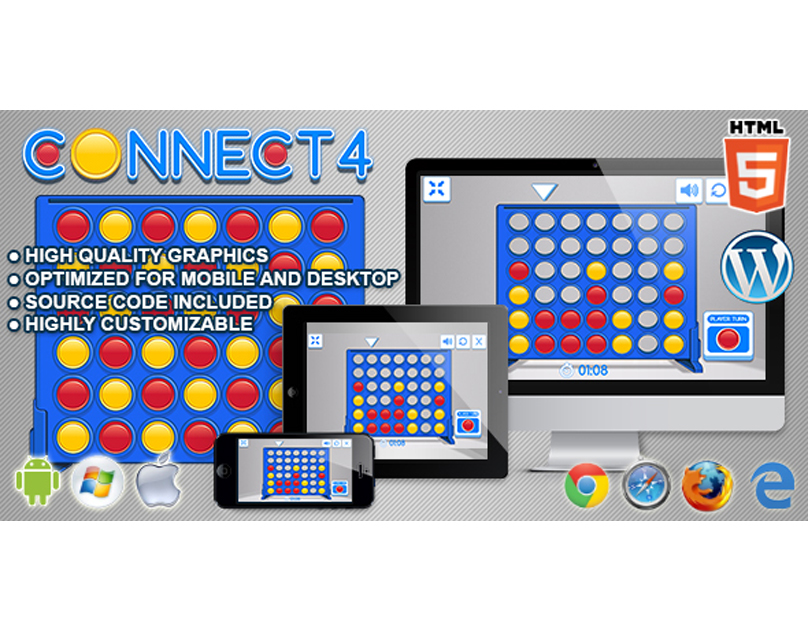 HTML5 Game: Connect 4