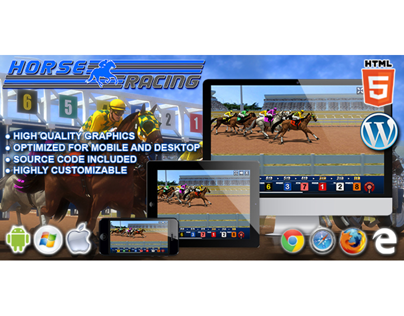 HTML5 Game: Horse Racing
