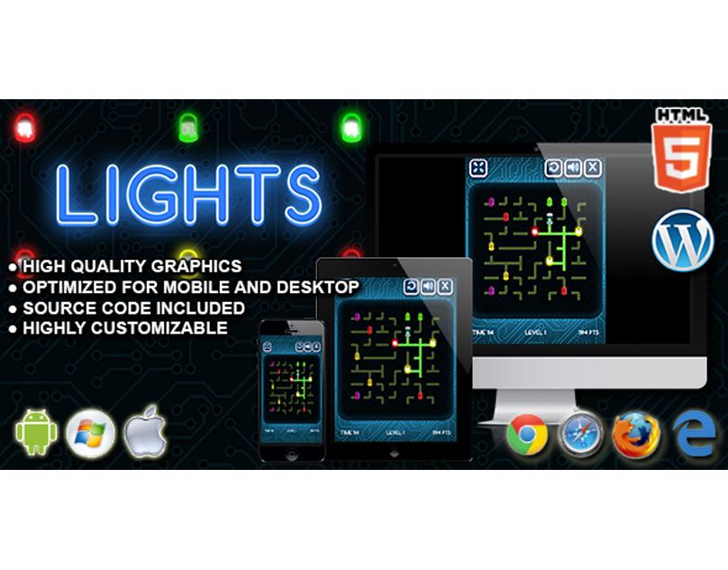 HTML5 Game: Lights