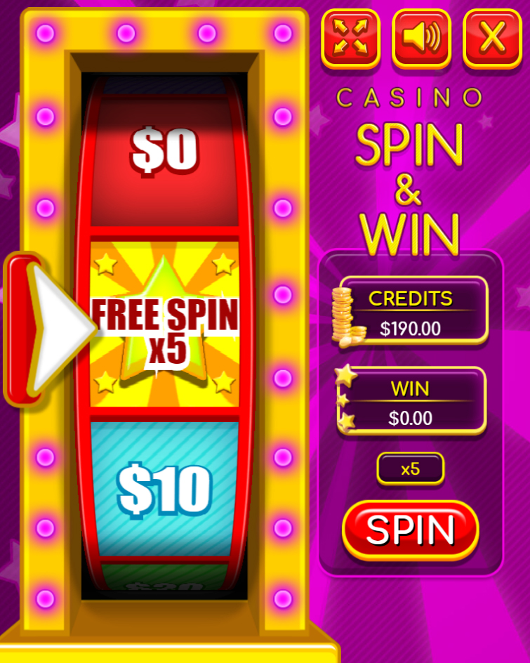 HTML5 Game: Casino Spin & Win - Code This Lab srl