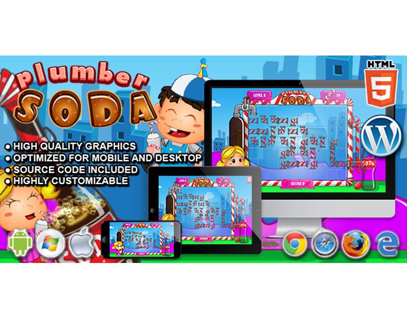HTML5 Game: Plumber Soda