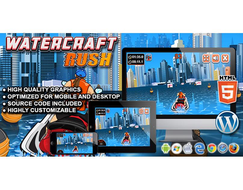 HTML5 Game: Watercraft Rush