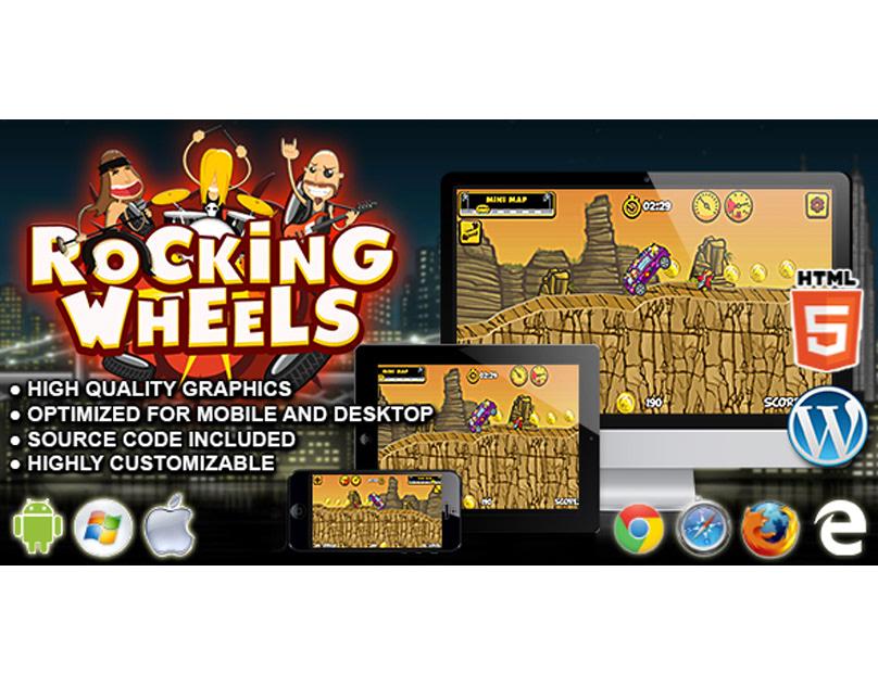 HTML5 Game: Rocking Wheels