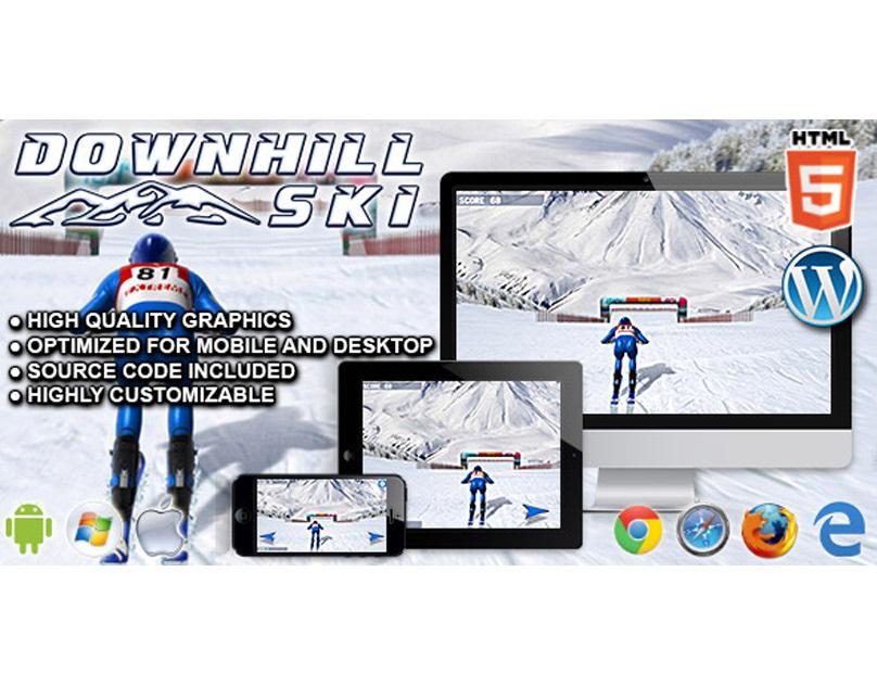 HTML5 Game: Downhill Ski